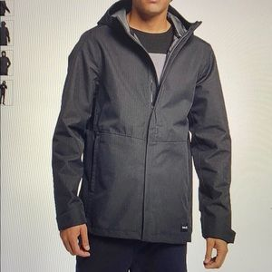 Hurley men outrider hooded jacket
